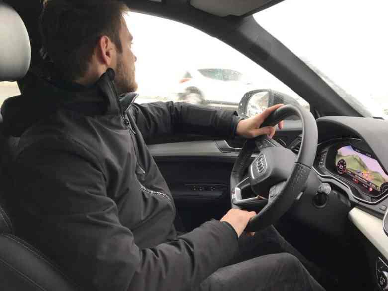 Kevin Ragonneau au volant du nouveau Audi Q5