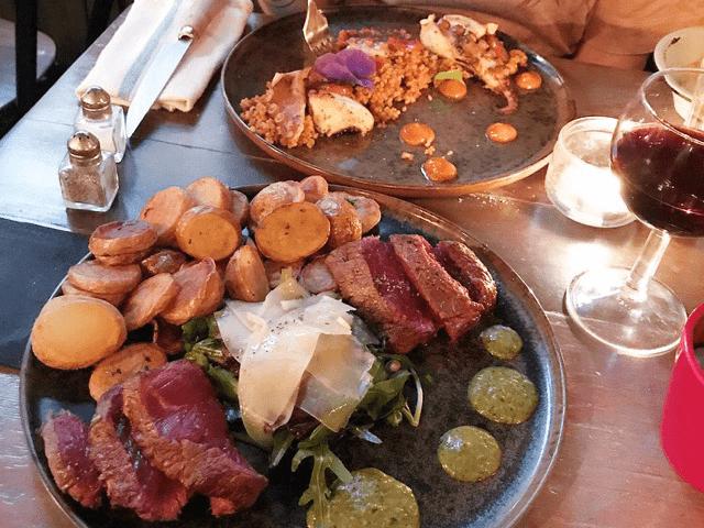 plat restaurant corse chez Minnà