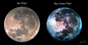 Moon Filter vs. SkyGlow Filter