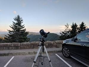 Dark Sky Astrophotography Setup