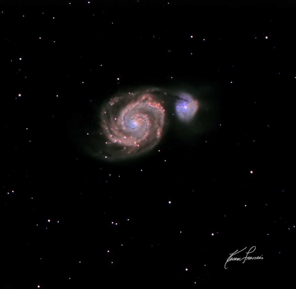 Messier 51 On The RRRT [Whirlpool Galaxy]