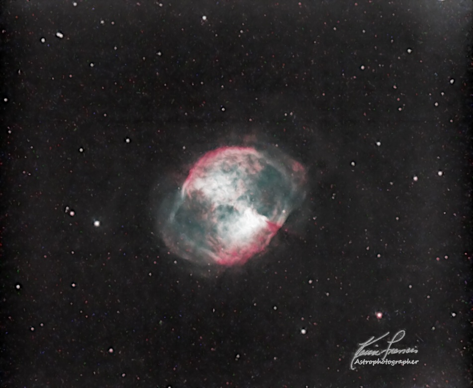 Planetary Nebula Are Spectacular [M27 Dumbbell Nebula]