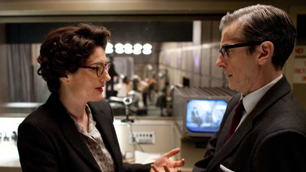 Anna Chancellor and Peter Capaldi