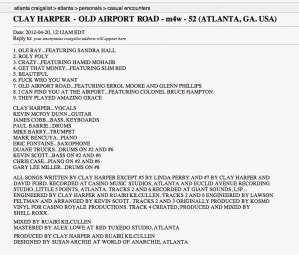 Clay Harper - Old Airport Road