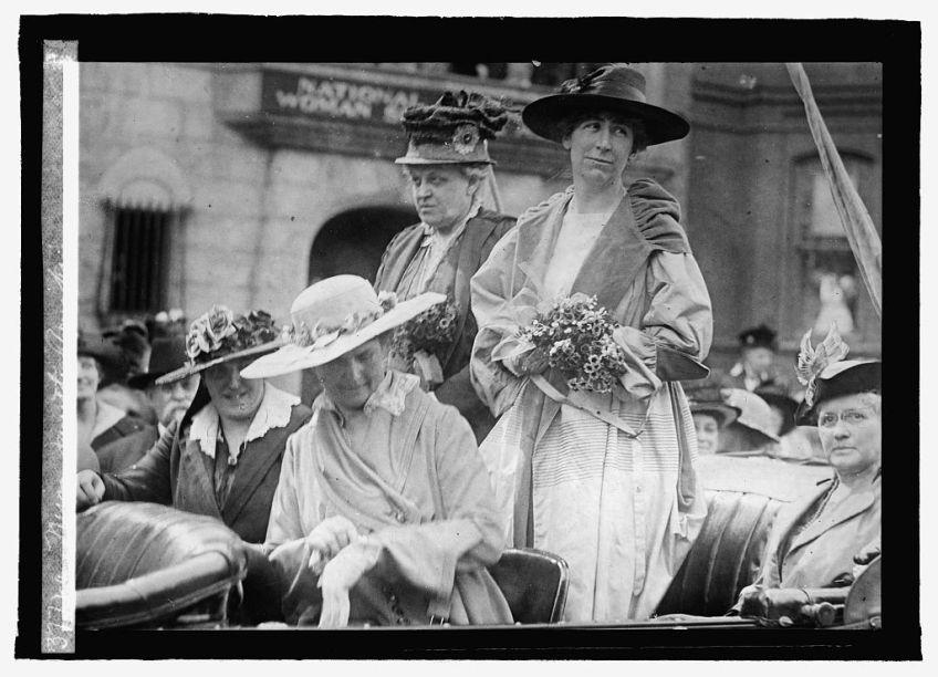 Jeannette Rankin first day in Congress