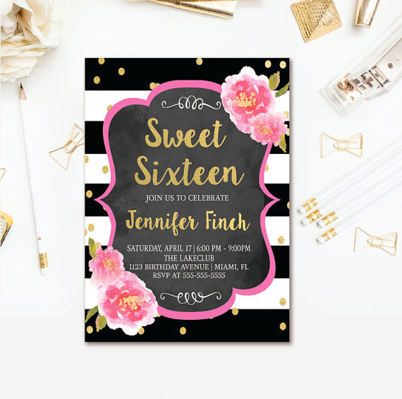the ultimate guide to a sweet 16 party