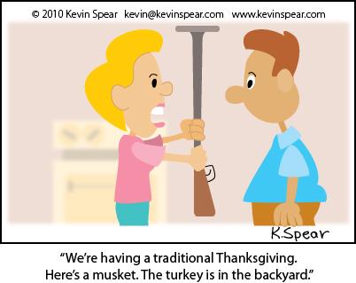 Spear Cartoon 2949