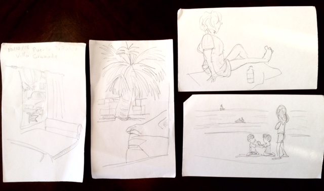 Sketches from Rocky Point