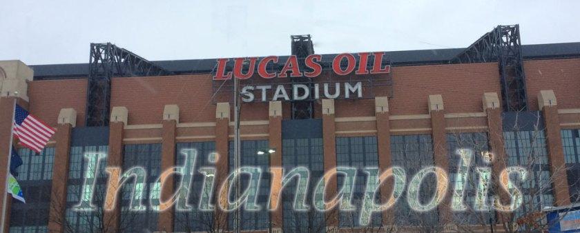 Lucas Oil Stadium Exterior, Indianapolis