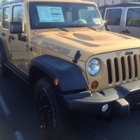 2013 Jeep Wrangler Dune Sighting