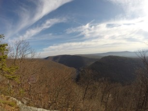 View of Lehigh River - Lehigh Gorge State Park, PA