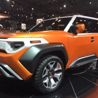 Toyota FT-X4 Concept debuts in NY