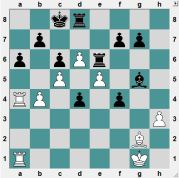 Black has just played 29...Re6, ready to start eating pawns. White must be careful now to avoid getting the worse of things. 30.b5?! is wrong because simply 30...Rxe5 carries out Black's plan. Instead, how should White proceed, and even get the better chances?