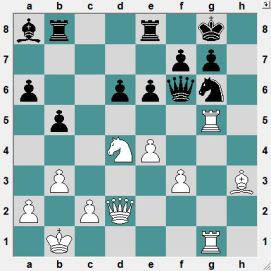 How should White proceed with his attack?