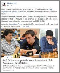 https://www.facebook.com/Ajedrez12