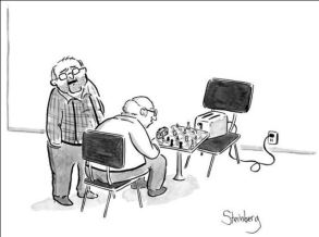 Funny! All machines are potential adversaries.