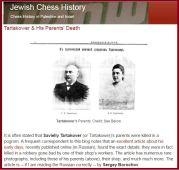 http://jewishchesshistory.blogspot.pt/ Based on this article: http://chesspro.ru/thesaurus/tartakower_tayna