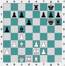 Albena chess festival 2016.6.21 Tsenkov, Tsenko--Korduban, Valerij. Black to play and crush!