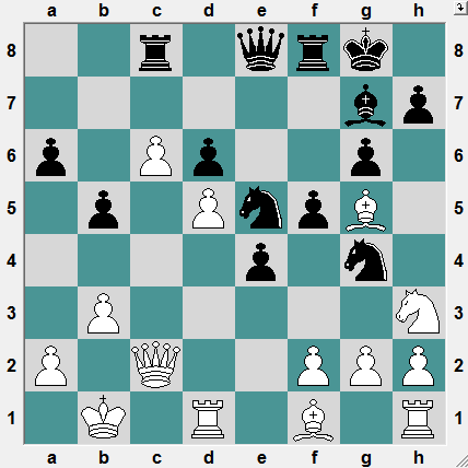 3rd Iasi Open ROU 2016.6.18 Piasetski,L--Istratescu,A. A tough fight, where the initiative is worth its weight in gold. Black to play and win!