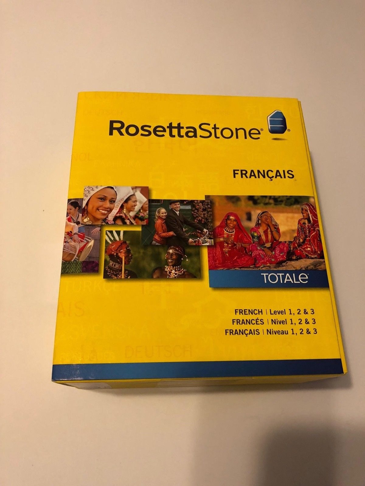 Rosetta Stone Language Learning Software French Spanish German Level 1 3 Version
