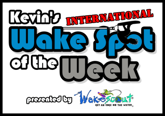 Kevins Wake Spot of the Week - Kevin Sutton Show Intl white w ws logo black border