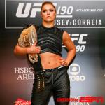Ronda Rousey Is A Beast