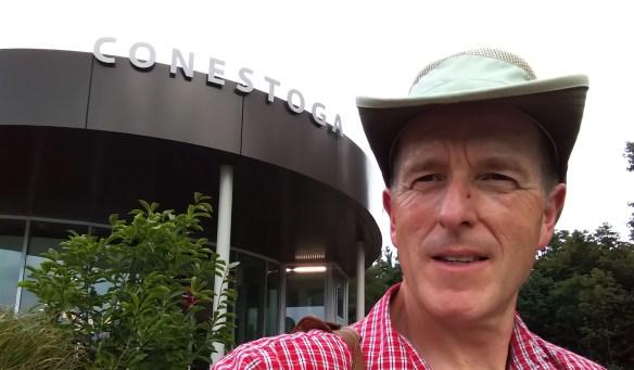 Kevin Swayze at Conestoga College, Kitchener, 2019