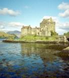Eilean Donan castle Kodak ColorPlus 200 film