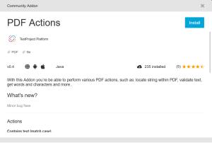 TestProject PDF Addon