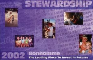 Stewardship Campaign Direct Mail Piece - Bonhomme Presbyterian