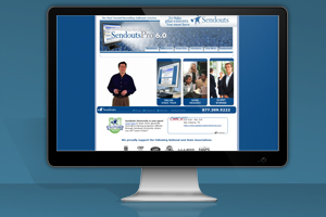 Sendouts Recruiting Software Website