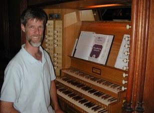 John Rutter's organ
