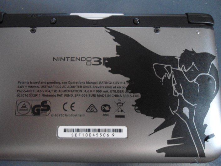 Decal 3DS XL Chrom