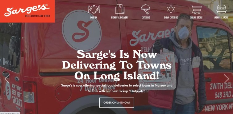 sarge's restaurant in new york