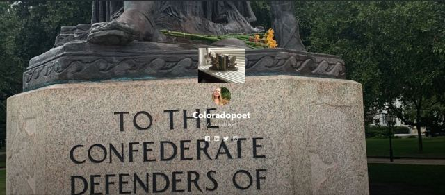 Photo - To The Confederate Defenders