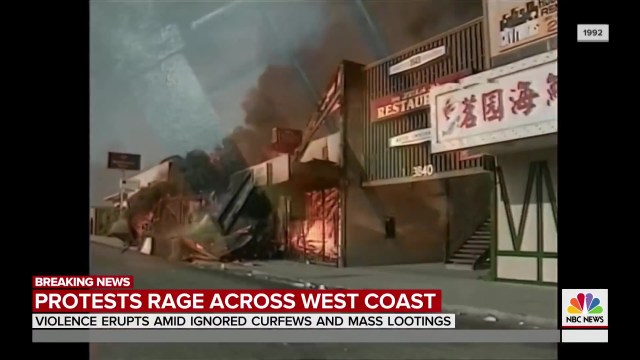 Rodney King Weaved In With BLM Violent Protests And Looting Rock Cities On The West Coast TODAY_Moment