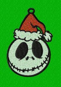 Nightmare Before Christmas Jack Santa FSL Ornament