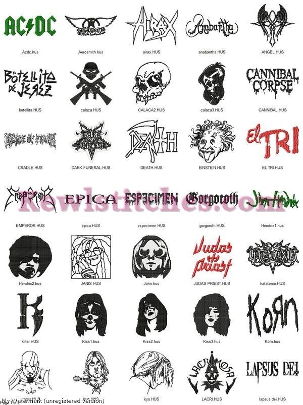 Rock Band Logos Set 3_p1
