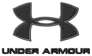 Under Armour Embroidery Design Logo