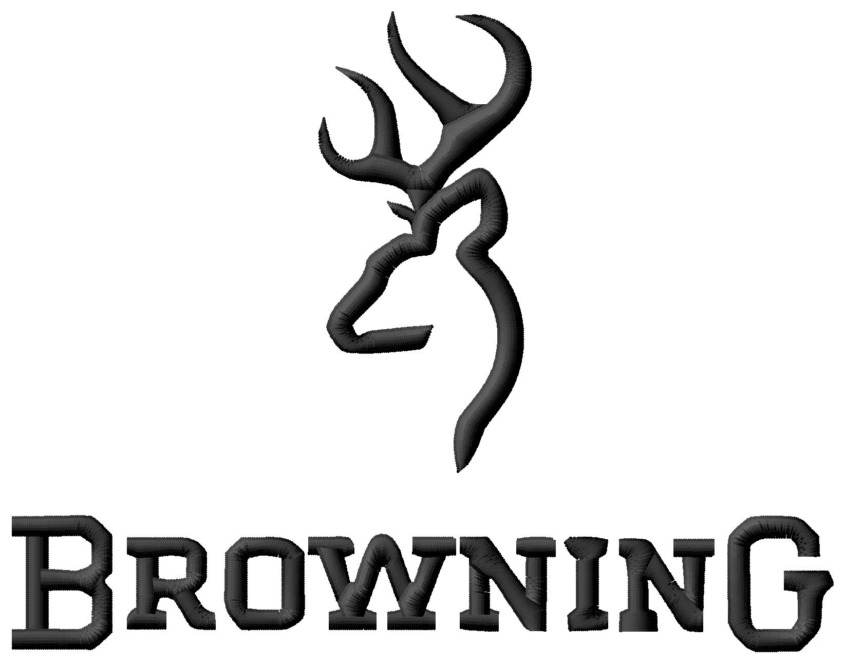 browning embroidery design 3