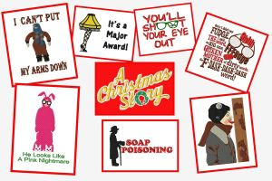 A Christmas Story Embroidery Designs Set