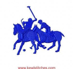 Double Polo Embroidery Designs