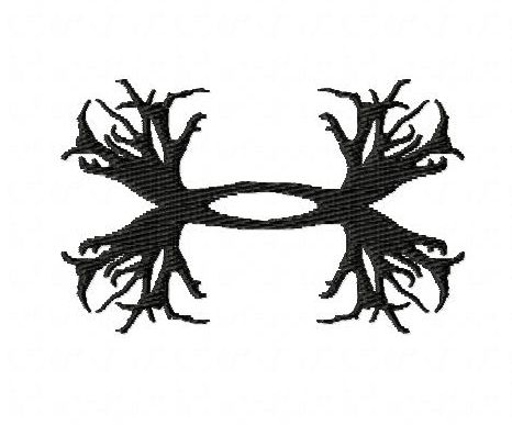 Under Armour Antler Embroidery Designs Style 2