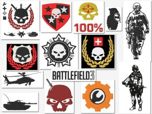 Battlefield Game (Gamer) Embroidery Designs