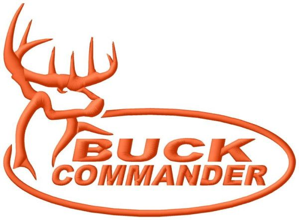 Buck Commander Embroidery Design