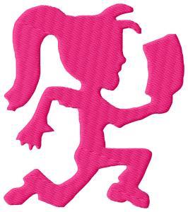 Insane Clown Posse Hatchet Girl Embroidery Designs