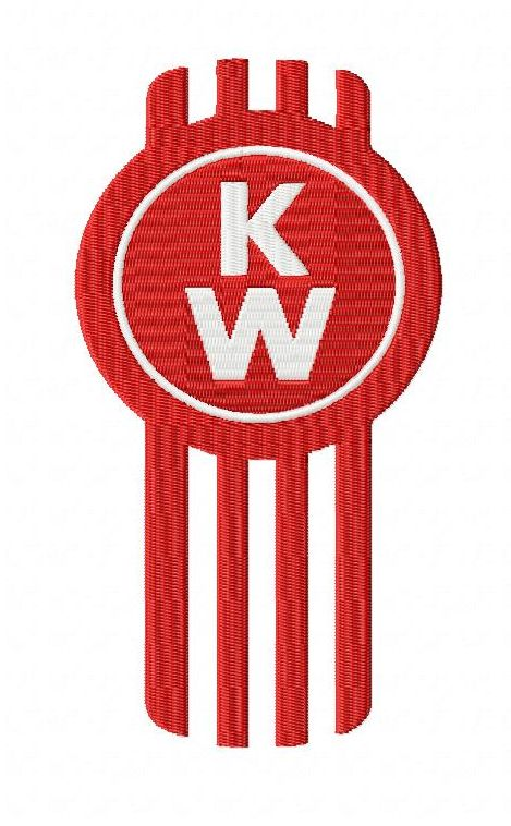 kenworth embroidery design