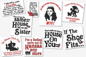 Funny Wizard Of Oz Quotes Sign Embroidery Designs