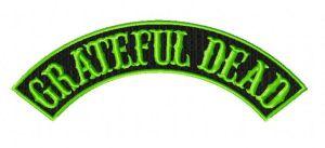 grateful dead rocker embroidery design
