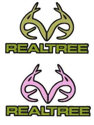 Realtree Embroidery Design Logo